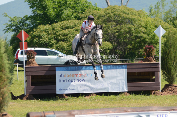 "2012, Bromont, ""Cross Country"", Eventing, ""Grey Max"", ""Hilary Popiel"", ""Horse Trials"""
