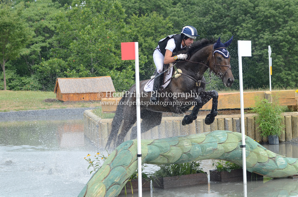 "2012, ""Cross Country"", Eventing, ""Horse Trials"", ""Jennie Brannigan"", ""Maryland HT"", Mettraise, ""Water Jump"""