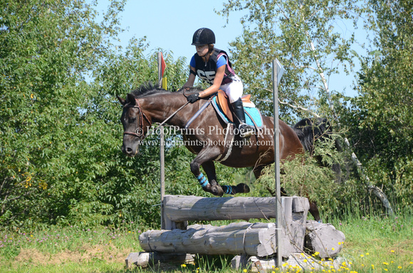 2014, Competition, Cross Country, Eventing, Gallop, Horse Trials, Morgane Lalonde, Robinson HT, Trixie