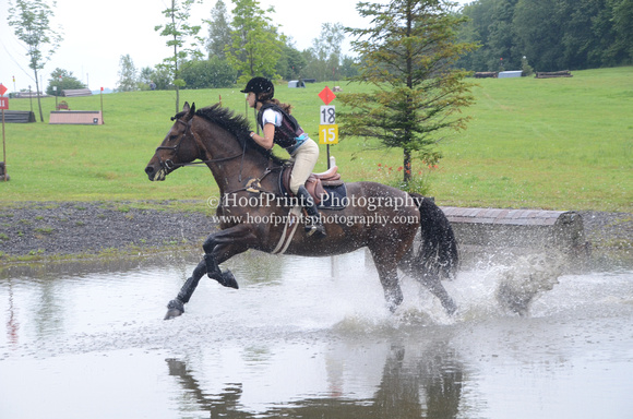 2014, Competition, Cross Country, Dahlia, Eventing, Horse Trials, Melanie Lanthier, Robinson HT
