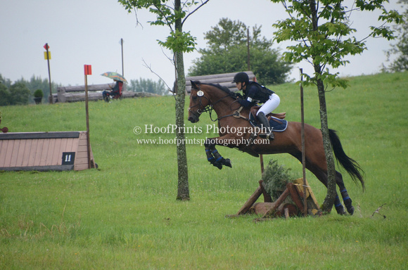 2014, Competition, Cross Country, Eventing, Gallop, Horse Trials, Robinson HT, Spirit del Fuego, Valerie Bolduc